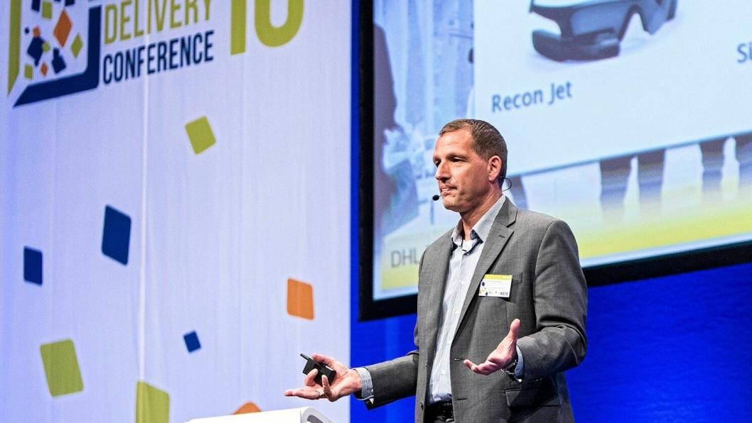 SPÅR: Markus Kückelhaus i DHL forsker på trender, og har klare oppfatninger om hvilke teknologier som vil endre logistikkbransjen fremover.