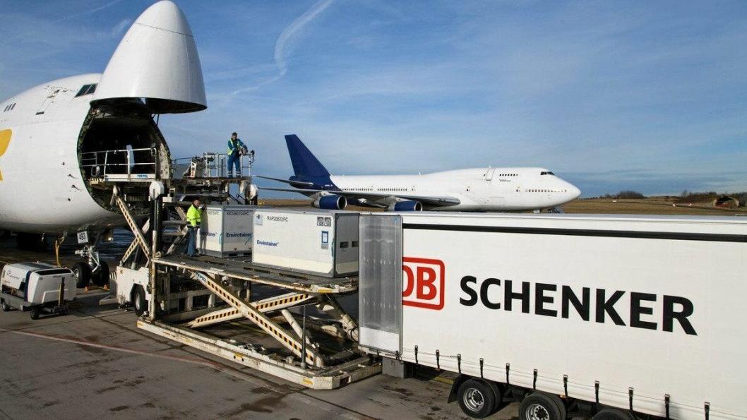 DB Schenker bruker mye flyfrakt i sin olympiske logistikk.