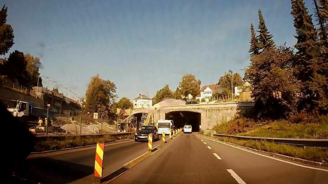 Store deler av Ring 3 i Oslo får miljøfartsgrense 60 km/t fra tirsdag.
