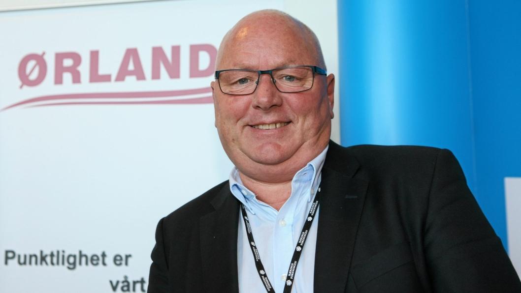 Daglig leder Kjell Haugland i Ørland Transport AS i Sandnes på Logistikkdagen 2016 på Fredheim, Sandnes.Foto: Per Dagfinn Wolden