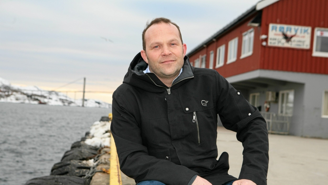Havnedirektør Paul Ingvar Dekkerhus i Rørvik.Foto: Per Dagfinn Wolden