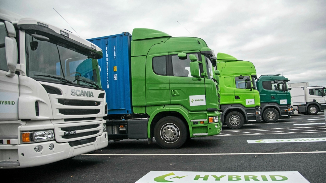 Tungtransporten kjører foran i miljøkampen.