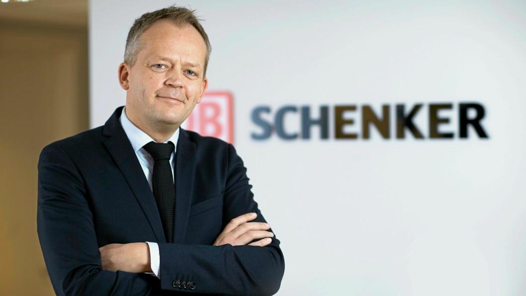 DB Schenker-direktør Knut Eriksmoen ser muligheter i Kina.