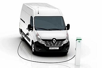 Nye elektriske varebiler