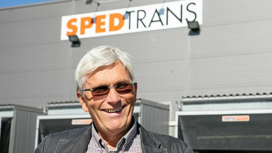 Helge Larsen og Sped Trans ser lyst på fremtiden. Foto: Per Dagfinn Wolden