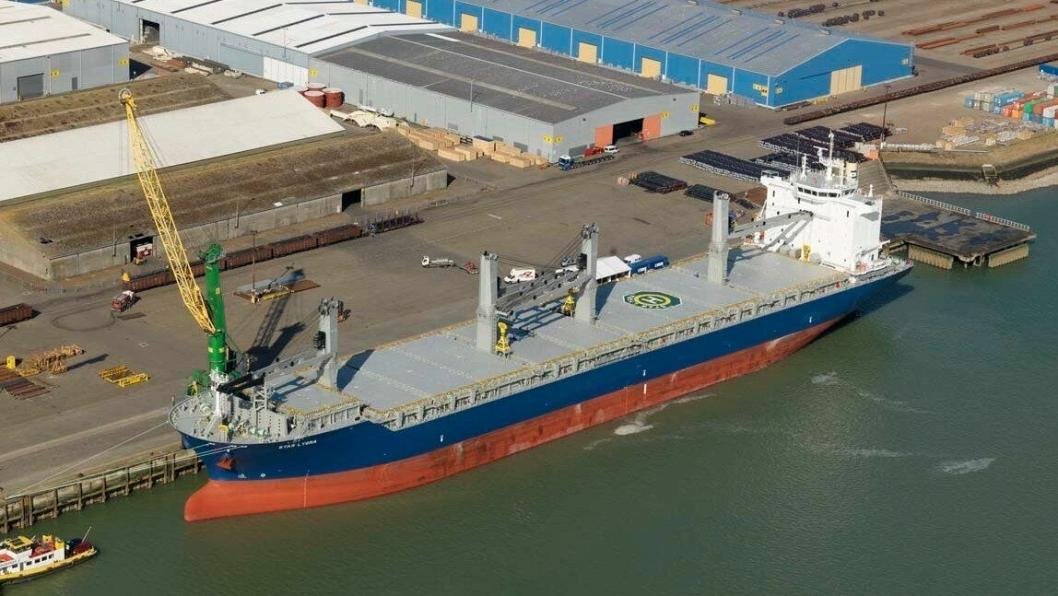 Grieg-skipet Star Lygra fotografert i 2015. Nå skal Shiplog hjelpe til med å holde oversikt over flåten.
