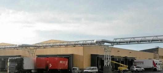 Nor Lines inn i ny Øra-terminal