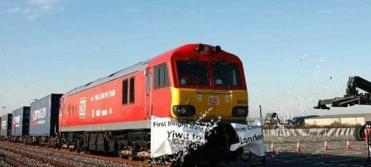Godstog fra Kina til London