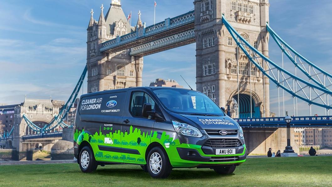 20 plug in-hybrider fra Ford skal svinse rundt i London fra høsten av.
