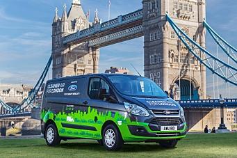 Ford skal gjøre London grønnere med hybrid