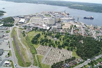 Larvik Havn får jernbaneterminal