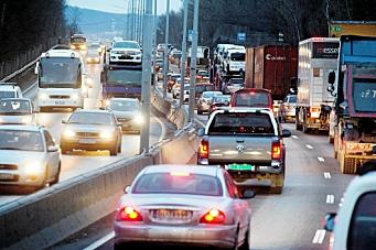 Lagrer energi fra lastebilens bremser