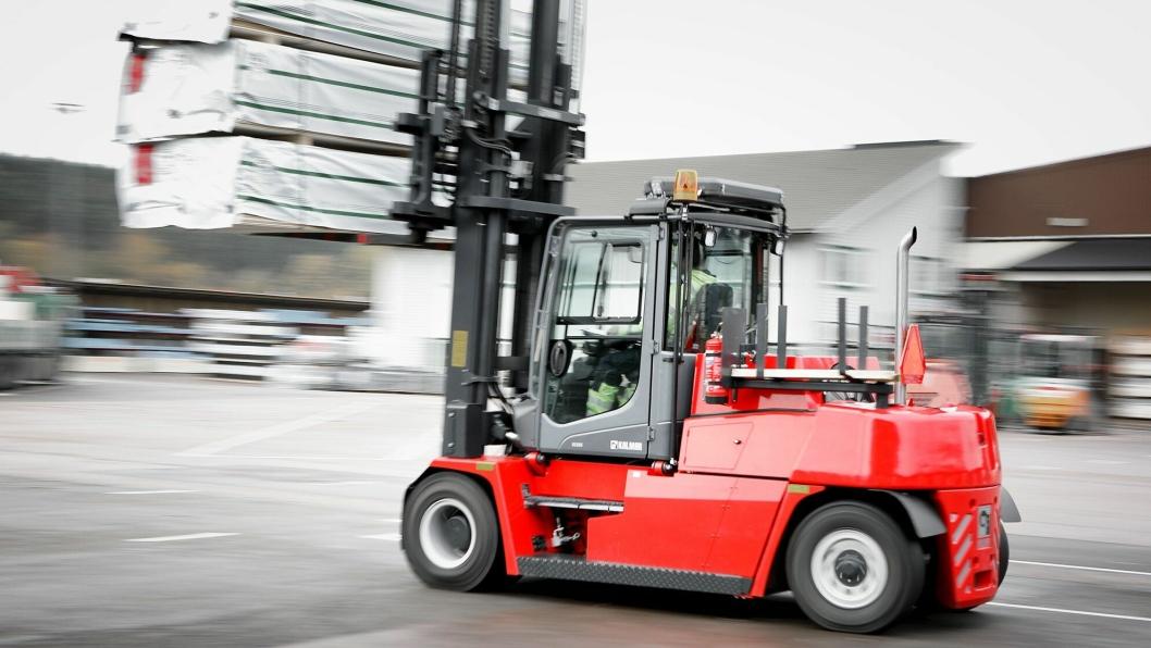 Den nye DCG50-90-serien fra Kalmar består av trucker med kapasitet fra fem til ni tonn, og blir lansert under LogiMAT-messen i mars.