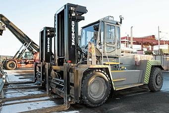 Svetruck klare for knallharde løft for CargoNet