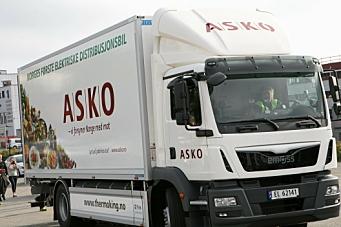 Gir støtte til kjøp av lastebil