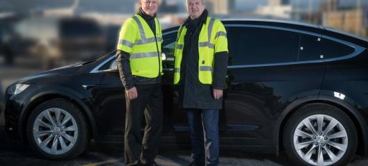 Rekordimport av biler over Drammen Havn