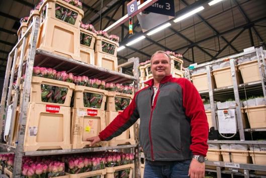 - Valentine's Day er vår klart mest hektiske feiring, sier teamleder Jörgen Slobbe.