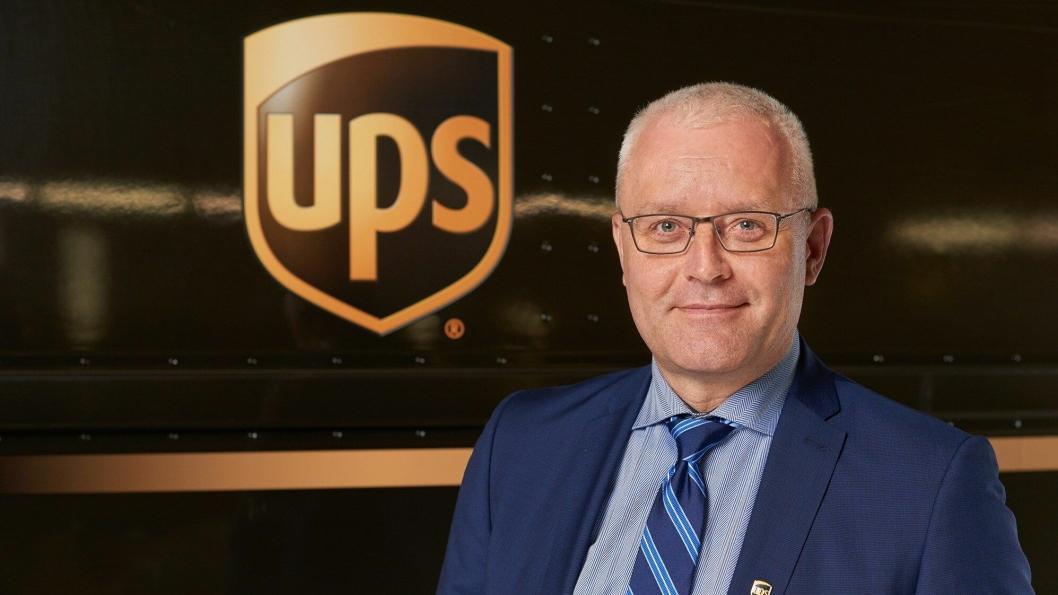Danske Frank Jørgensen har 25 års erfaring fra logistikkbransjen og blir nå UPS' landssjef i de fem nordiske landene.