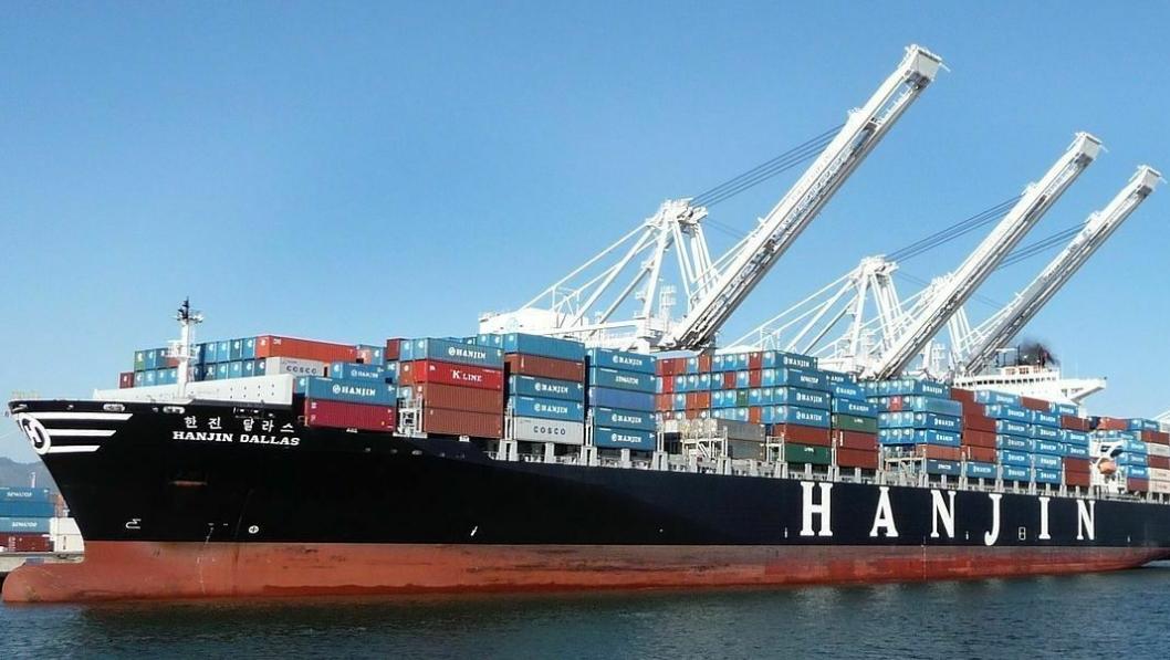 Hanjin har vært blant verdens ti største containerrederier med en TEU-kapasitet på rundt 650.000.