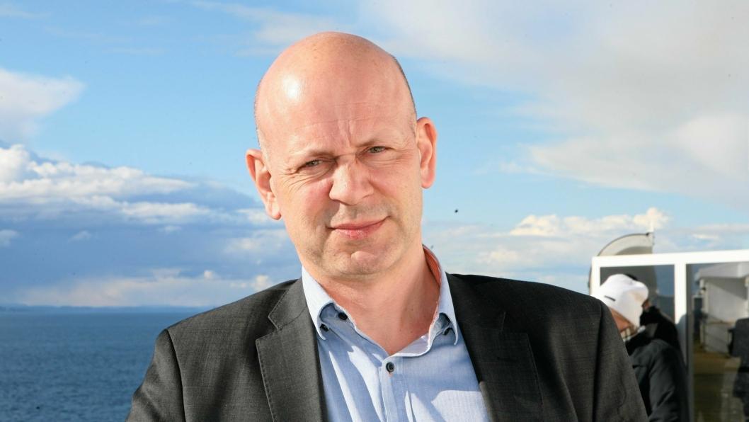 John Kenneth Selven ber Nord-Norge rope om hjelp til ny transportkorridor. Foto: Per Dagfinn Wolden