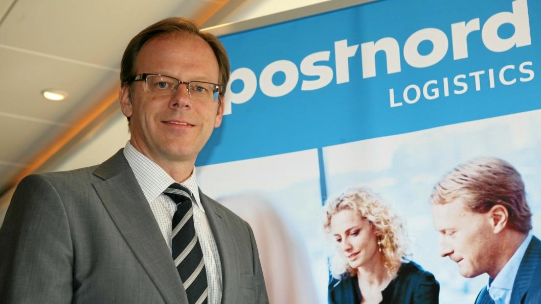PostNords konserndirektør Håkan Ericsson trenger ferske milliarder til den danske virksomheten. Foto: Per Dagfinn Wolden