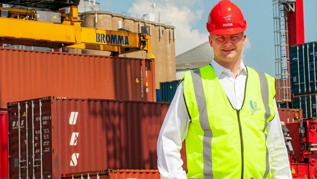 Ketil Solvik-Olsen og samarbeidspartiene skal legge frem satsing på gods på jernbane.