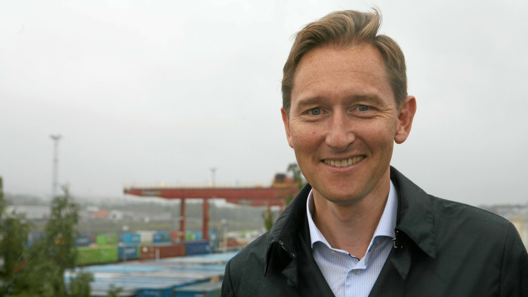"""""""Godsgeneral"""" i Jernbaneverket, Roger Kormeseth, får nå lønn for strevet. Foto: Per Dagfinn Wolden"""