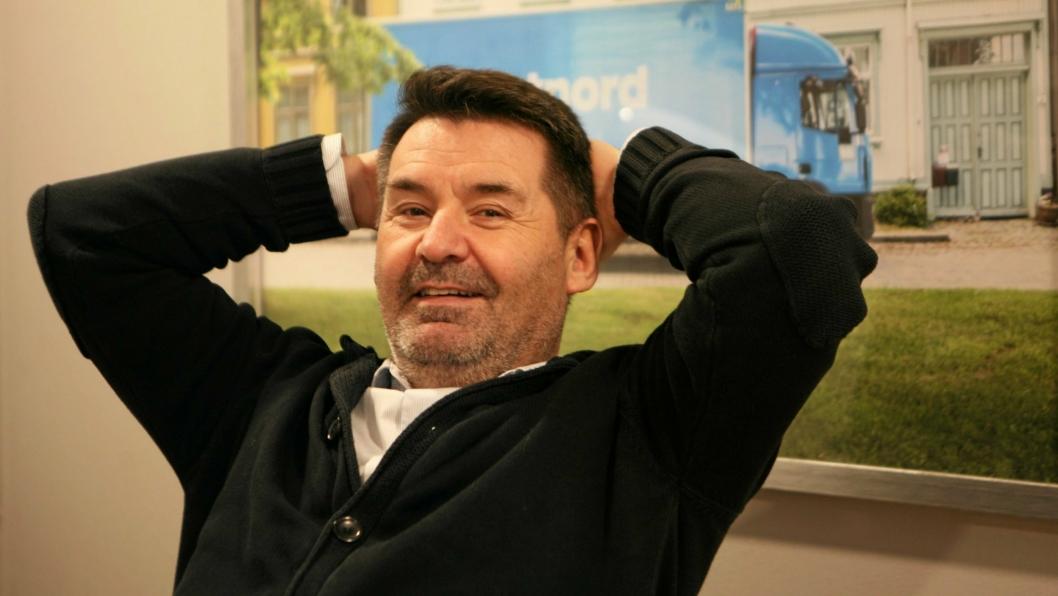 PostNords Lars Smith er både ydmyk og avslappet som ny Futurum-general. Foto: Per Dagfinn Wolden