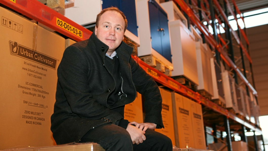 Styreleder Joakim Strand i NHO Logistikk og Transport Midt-Norge sier at klarsignal for bygging på Torgård gir forutsigbarhet for bransjen. Foto: Per Dagfinn Wolden