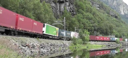 Kan strupe godstrafikken på Bergensbanen