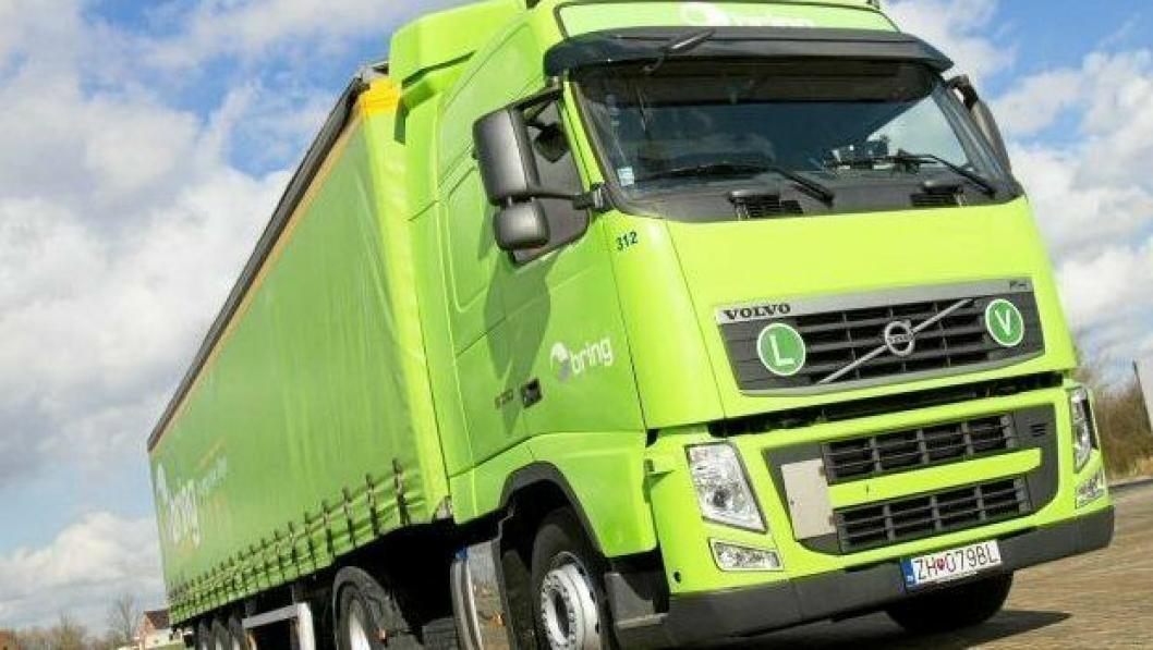 Bring Trucking er Brings slovakiske datterselskap.Foto: Bring