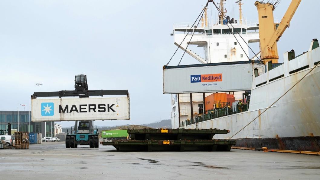 I Karmsund Havn satser man på vekst de kommende årene.