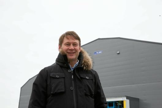 FORNØYD: Daglig leder i Rubb AS, Jan Arne Hansen, melder om fulle produksjonslinjer