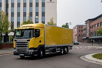 Scania hybrid: Utslippsfritt i Lillestrøm