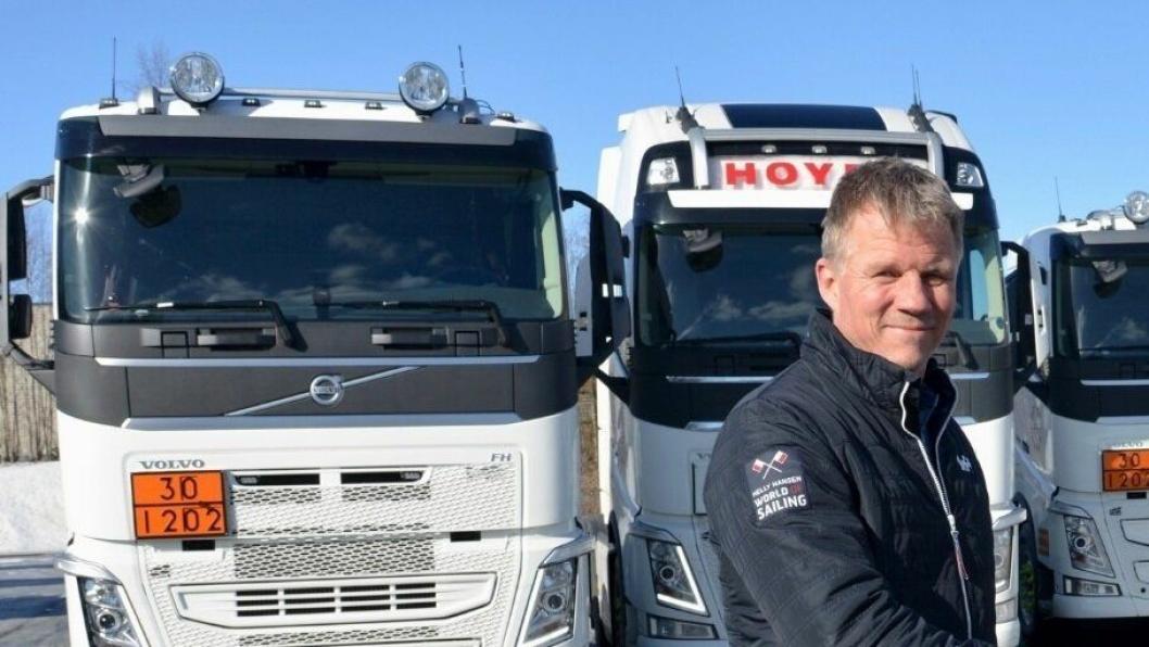 Fleet manager Odd Jacobsen hos Hoyer Norway.