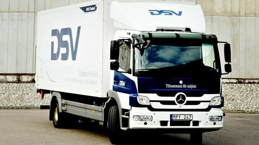 Denne hybrid-lastebilen skal testes i Malmö.