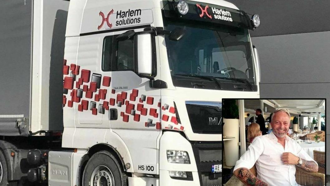 Dag André Harlem er på full fart inn i transport- og logistikkbransjen med eget selskap.Foto: Harlem