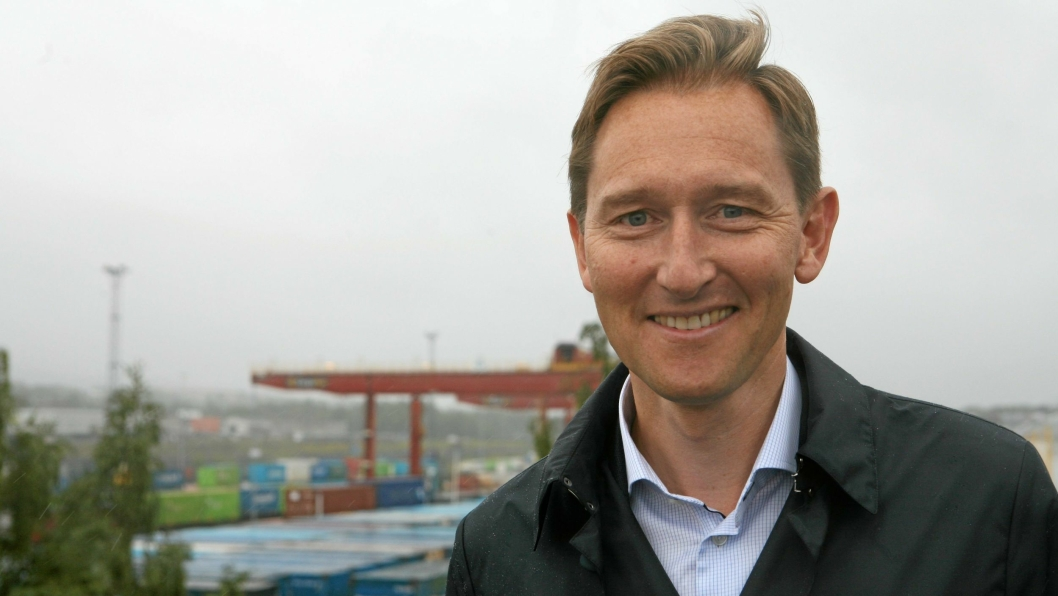 """Ytterligere lønn for strevet til """"Godsgeneral"""" i Jernbaneverket, Roger Kormeseth. Foto: Per Dagfinn WoldenFoto: Per Dagfinn Wolden"""