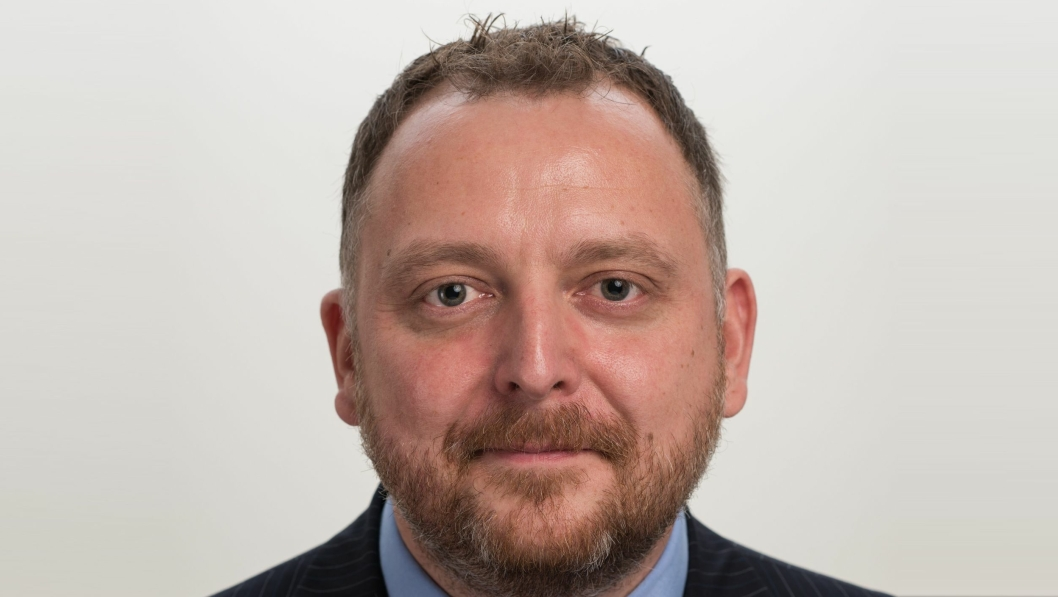 Peter Stangeland, ny salgs- og markedssjef i Schenker AS.