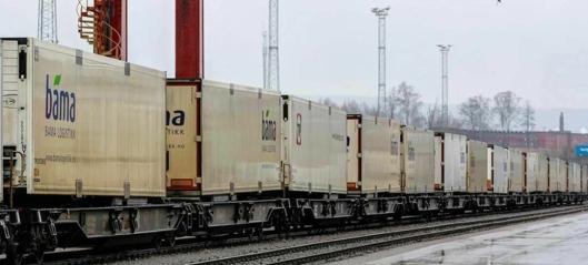 319 milliarder kroner til jernbane