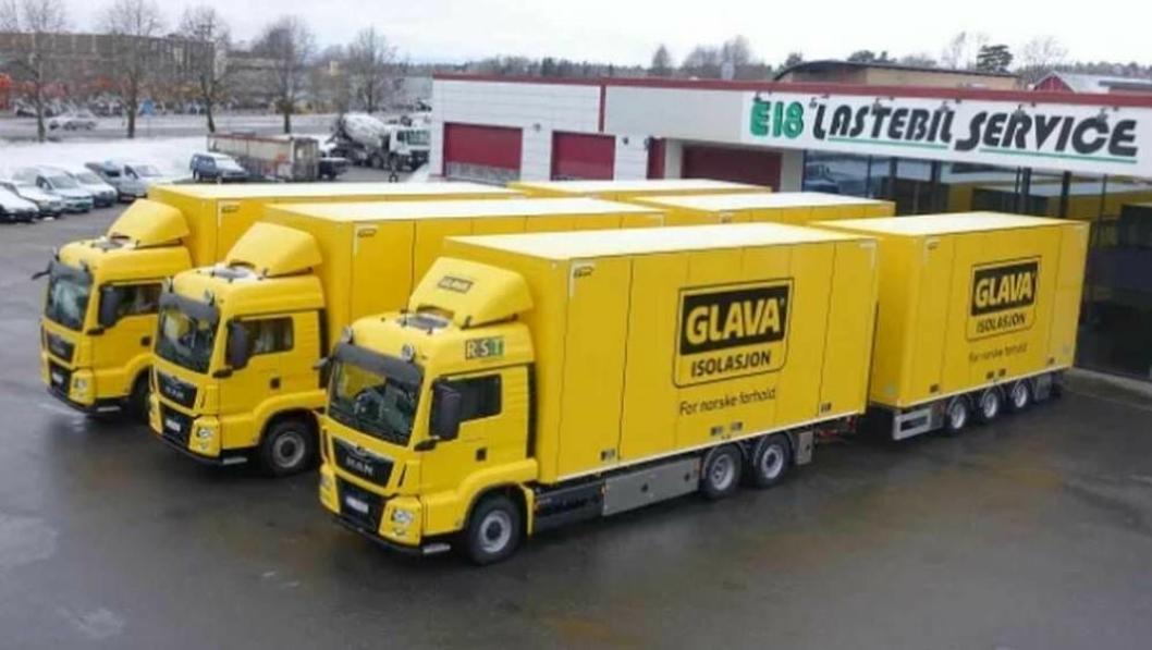 Med dette oppsettet får man lett med seg Glava-isolasjon, men vogntogene skal også brukes til annen, tyngre transport.
