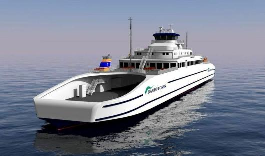 De nye fergene til Bastø Fosen har bare ett dekk, men det er på hele 140 meter. Det gjør fleksibiliteten større for tungtransporten.