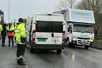 Storkontroll av varebiler og transportkjøpere
