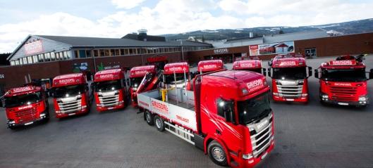 Ti nye Scania til Gausdal Landhandleri