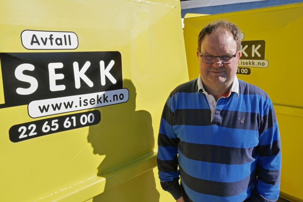 TILSTEDE: Service er pri 1. Man må være tilstede når kunden trenger det, sier Pål Kristiansen.