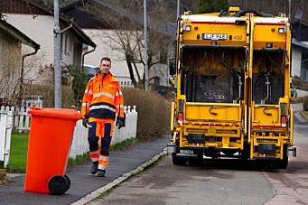Tester selvkjørende søppelbil