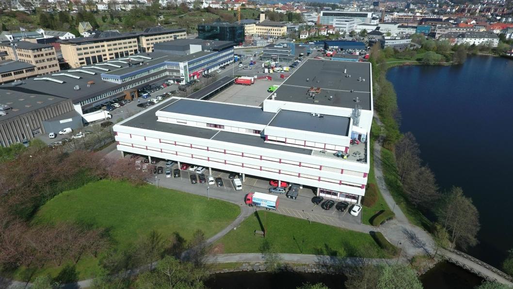 Postterminalen på Minde i Bergen skal selges.