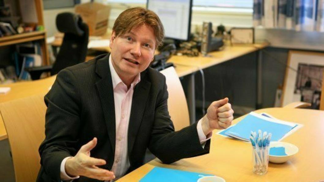 – Dette er fortvilt, sier PostNords Ole Andreas Hagen som er i møte med Jernbanedirektoratet i dag. Foto: Per Dagfinn Wolden