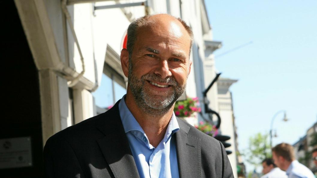 Adm. direktør Terje Aarbog i DHL Express Norway AS fortsetter som leder for speditørene. Foto: Per Dagfinn Wolden