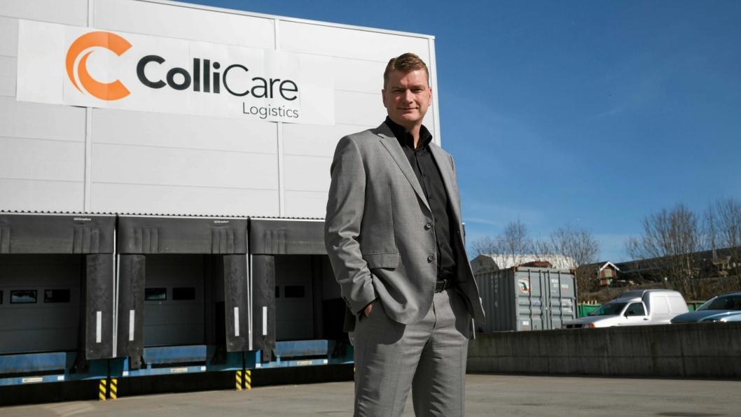 Konsernsjef Knut Sollund i ColliCare er ikke nådig i sin kritikk av Bring/Posten.